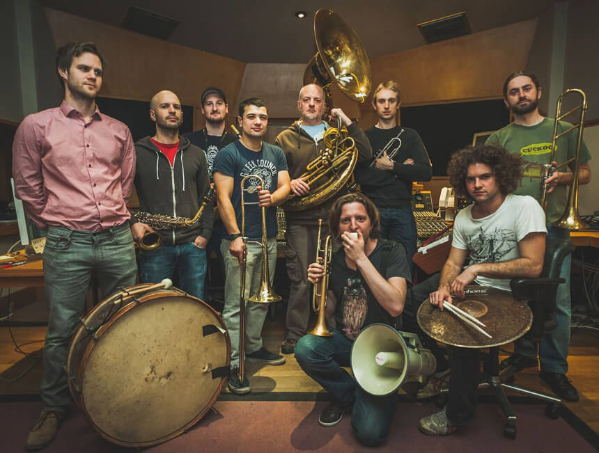 Hackney Colliery Band booked for Bedales Theatre