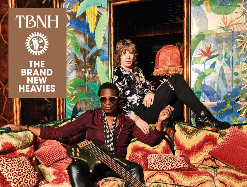 The Brand New Heavies team up with MN2S Social Media to promote their latest album