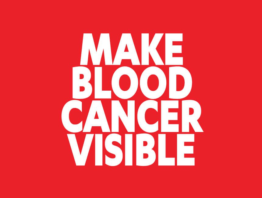 Laurence Llewelyn-Bowen is the official ambassador for Make Blood Cancer Visible