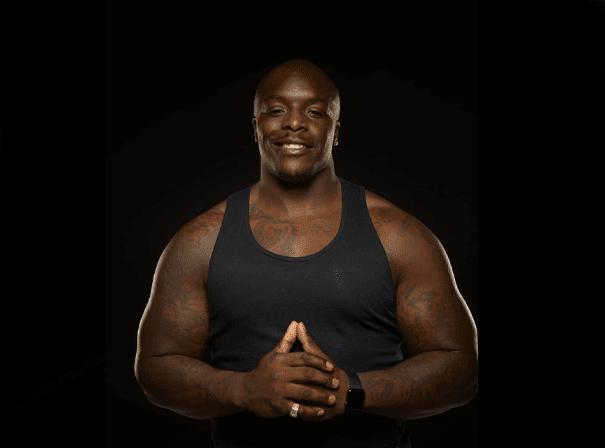 Adebayo Akinfenwa Muscles