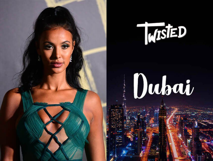 "Maya Jama appears on Twisted's ""Hangin' With"""