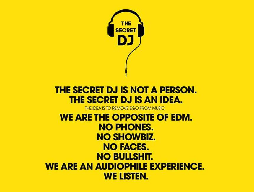 New Signing: The Secret DJ