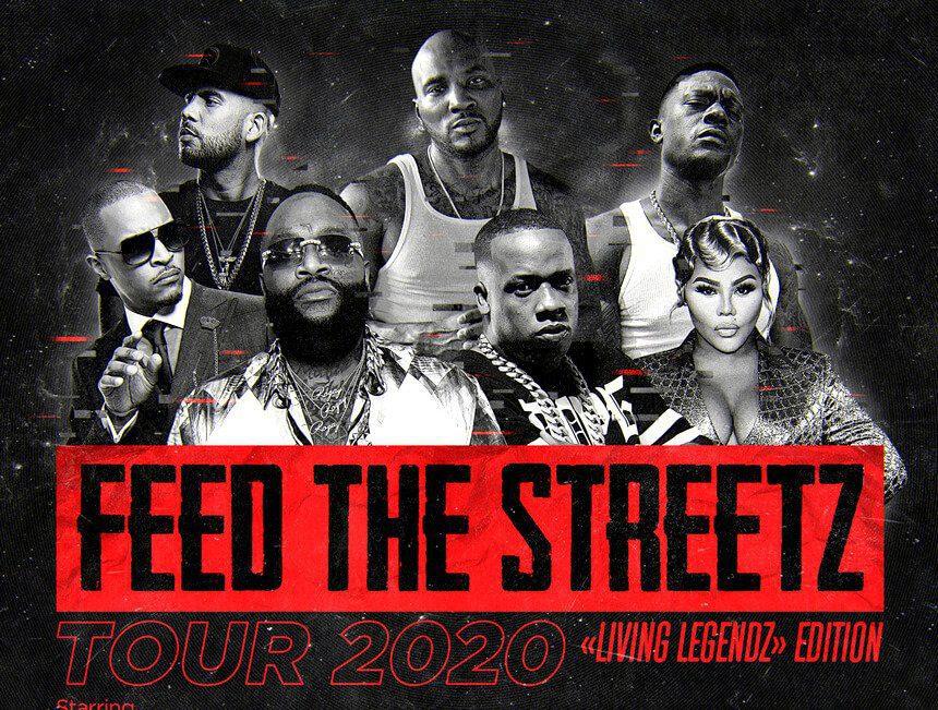 Rick Ross announces Feed the Streetz tour with 2 Chainz, T.I., Lil Kim, Boosie Badazz & Yo Gotti