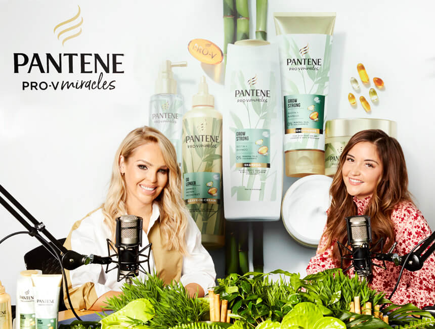 Jacqueline Jossa joins Katie Piper on an exclusive episode of Extraordinary People with Pantene Pro-V