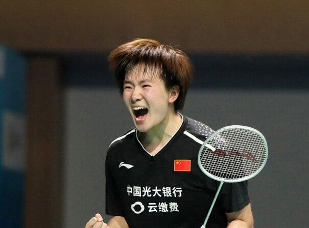 Nozomi Okuhara was beaten by China's He Bing Jiao in Tokyo 2020