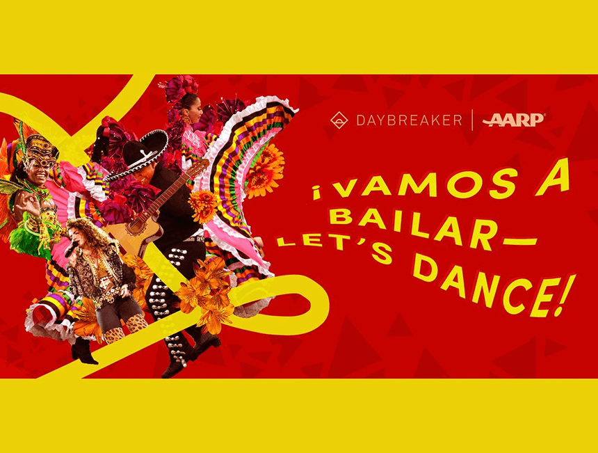 """Gipsy Kings and Los Del Río take part in AARP and Daybreakers' """"Vamos a bailar"""" virtual dance party"""