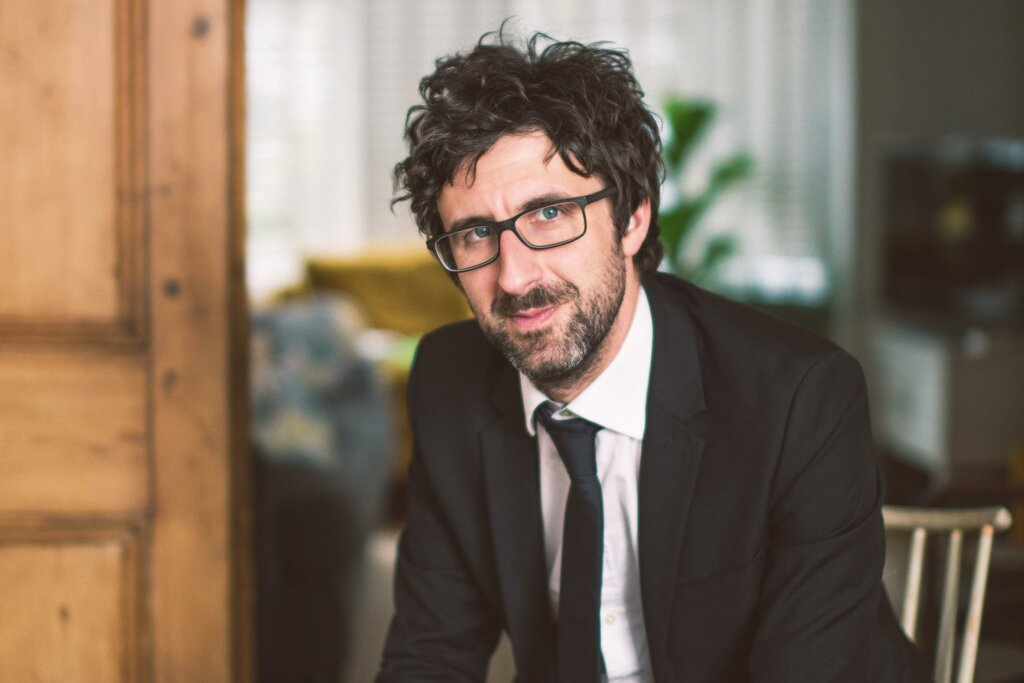 Mark Watson performs a virtual stand-up set for Festv