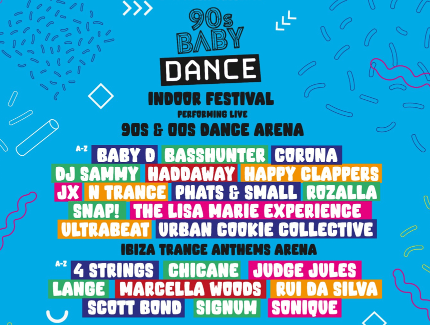 Snap! and Chicane set to perform at 90s Baby Festival